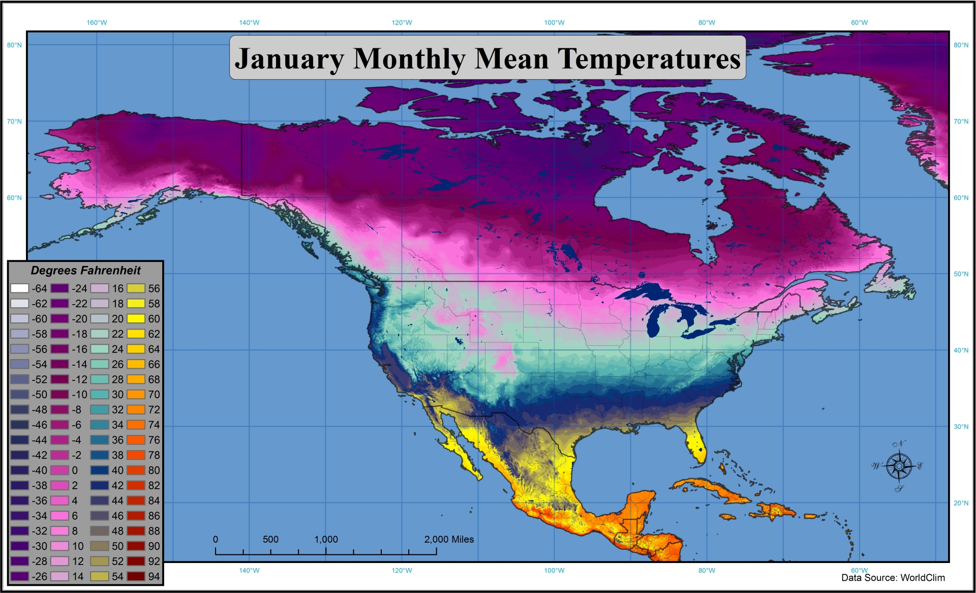 Just how much colder is Siberia? (climate, warm, average ...